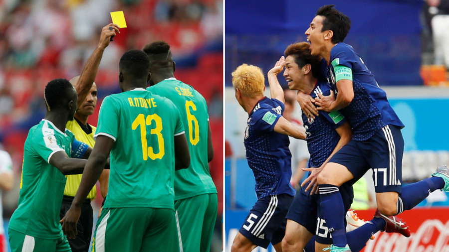 World Cup history made in Volgograd as Japan become first team to advance on fair play rules