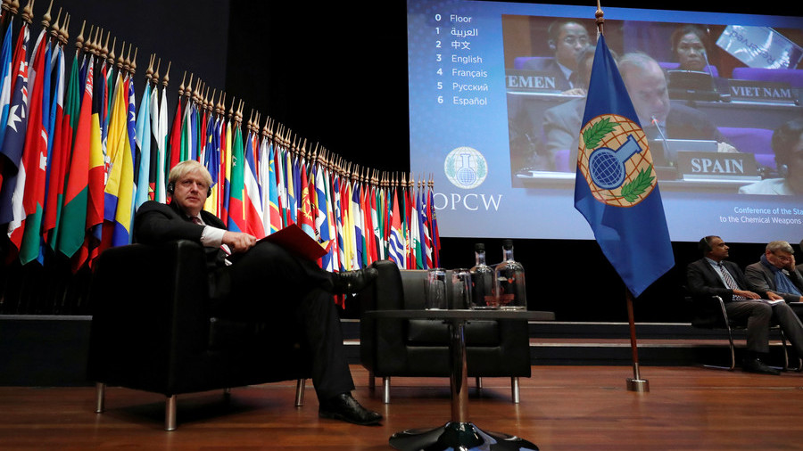UK & allies used 'bribery & blackmail' to force other states to back OPCW proposal – Moscow