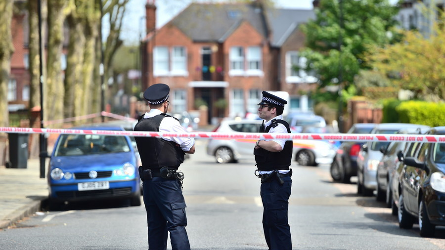 'Racially motivated' stabbing left man fighting for life in east London - police