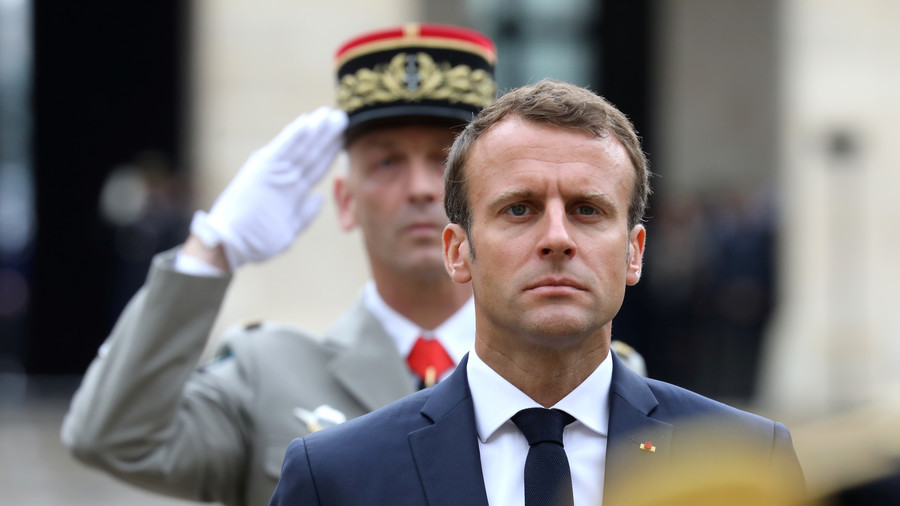 Waste of cash & state propaganda: French slam Macron's plan to bring back mandatory military service