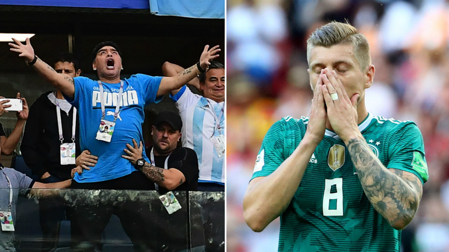 From Maradona memes to shock German exit: The most-discussed World Cup group stage moments