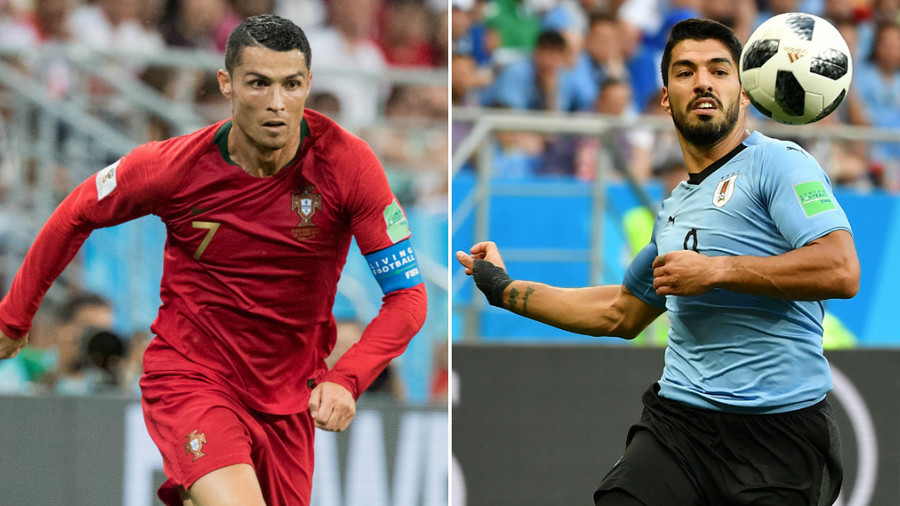 Suarez vs. Ronaldo subplot of Uruguay-Portugal Round of 16 showdown