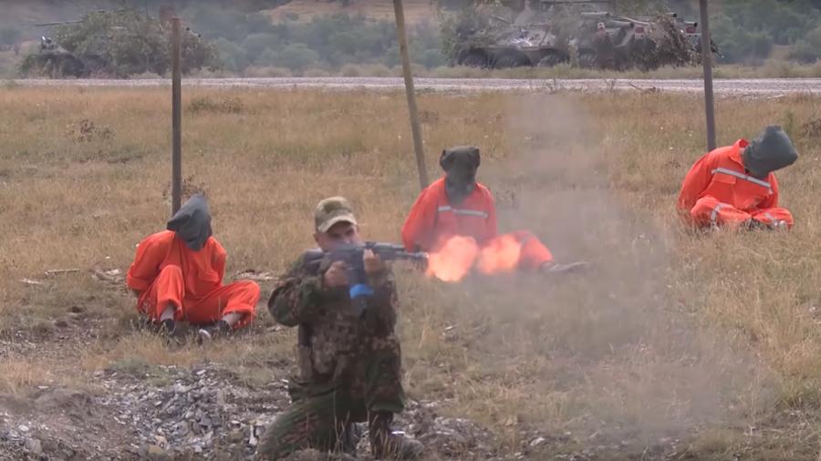 Jolly Roger-flying terrorists get whacked at Slavic Brotherhood 2018 drills (VIDEOS)