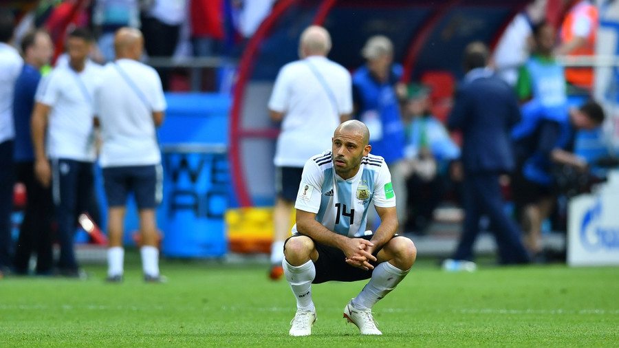 Argentina's Mascherano retires from international football after France World Cup defeat