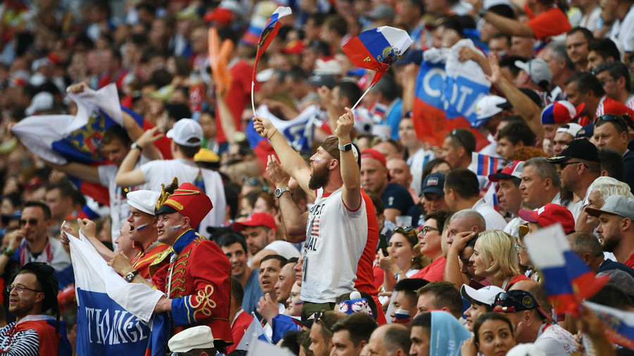 FIFA hits World Cup hosts Russia with fine for fans' discriminatory banner