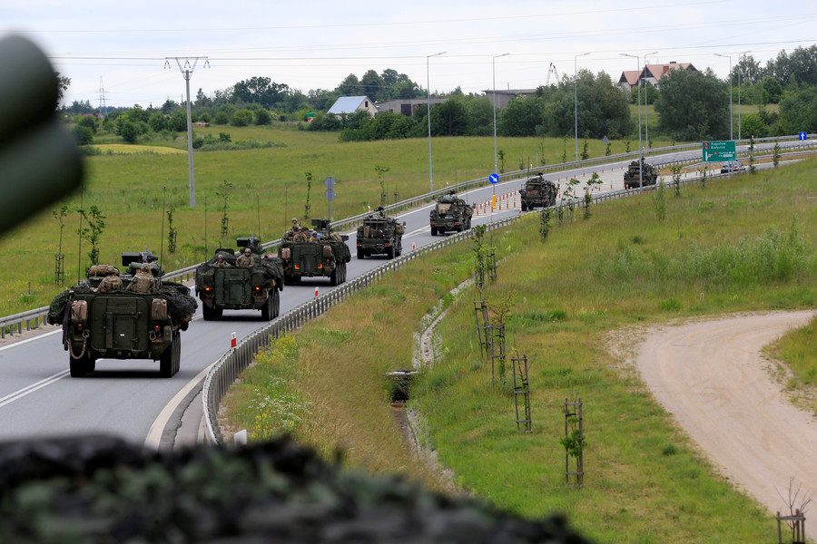 NATO advances on Russia's border under the cover of Western media propaganda