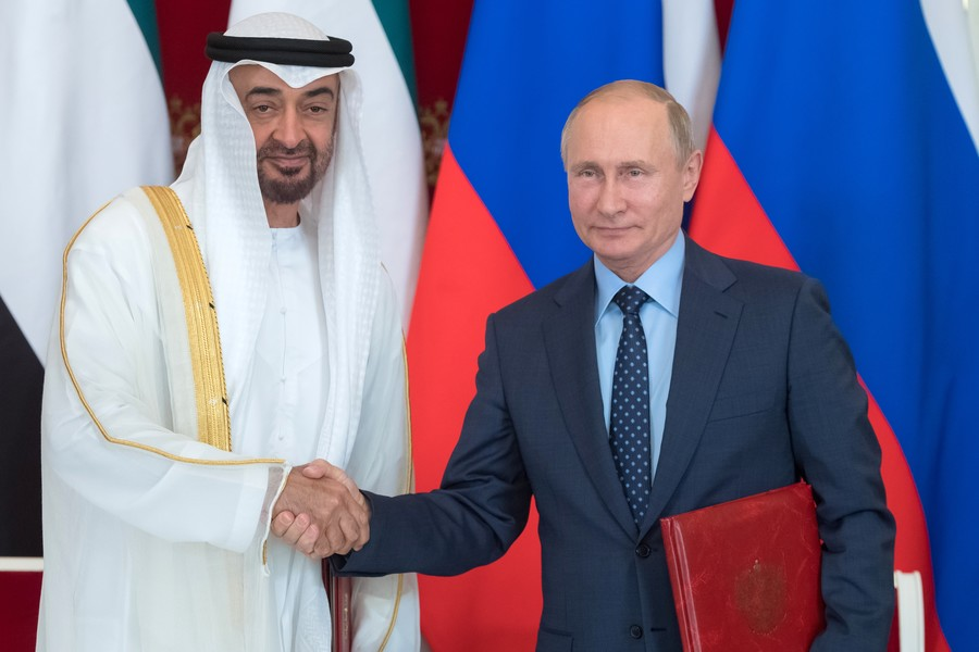 'WMD free zone:' Russia & UAE agree to join forces on Middle East non-proliferation