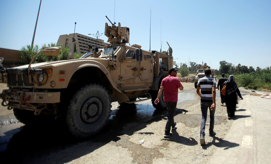 Baghdad denies that US is setting up base at Iraq-Syria border