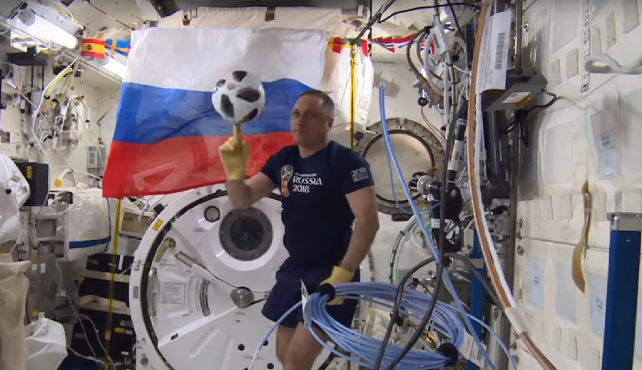 Goodbye, zero-g football! Top 5 moments of Russian-US-Japanese ISS crew
