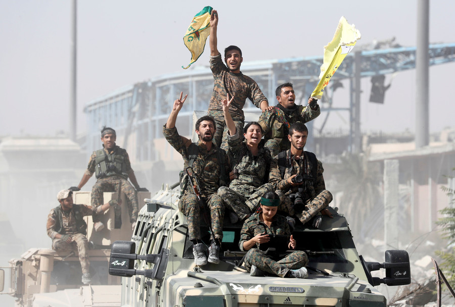 Kurds left in the cold as US & Turkey agree on 'roadmap' for Syrian city pullout