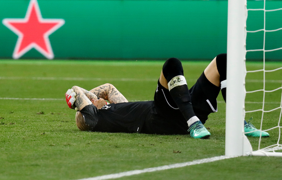 Liverpool goalkeeper Karius 'suffered concussion' during Champions League final horror show