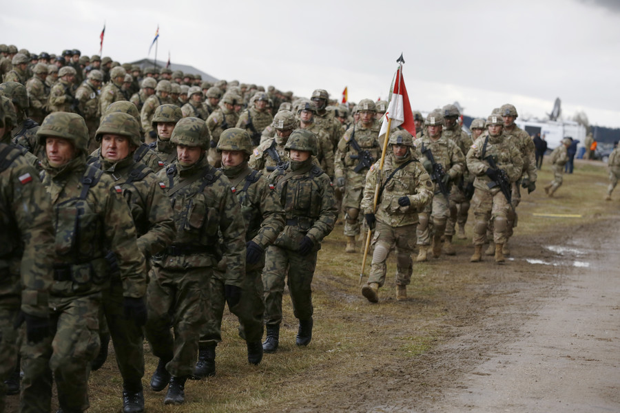 Cannon fodder for nuclear war: What the US division deployed to Poland will become