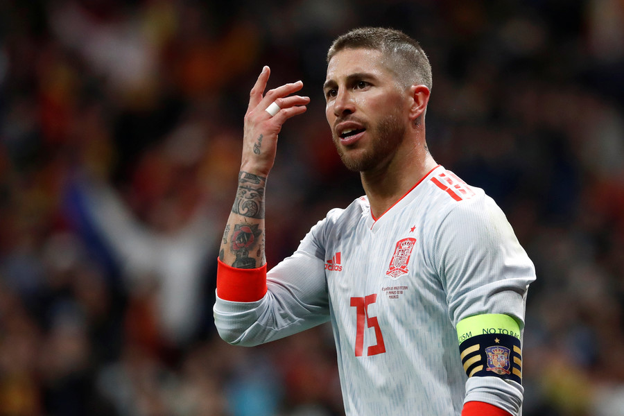 'Only missing Firmino getting a cold because of my sweat': Ramos trolls LFC over injury accusations