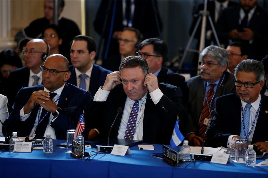 Organization of American States starts Venezuela suspension procedure after US call