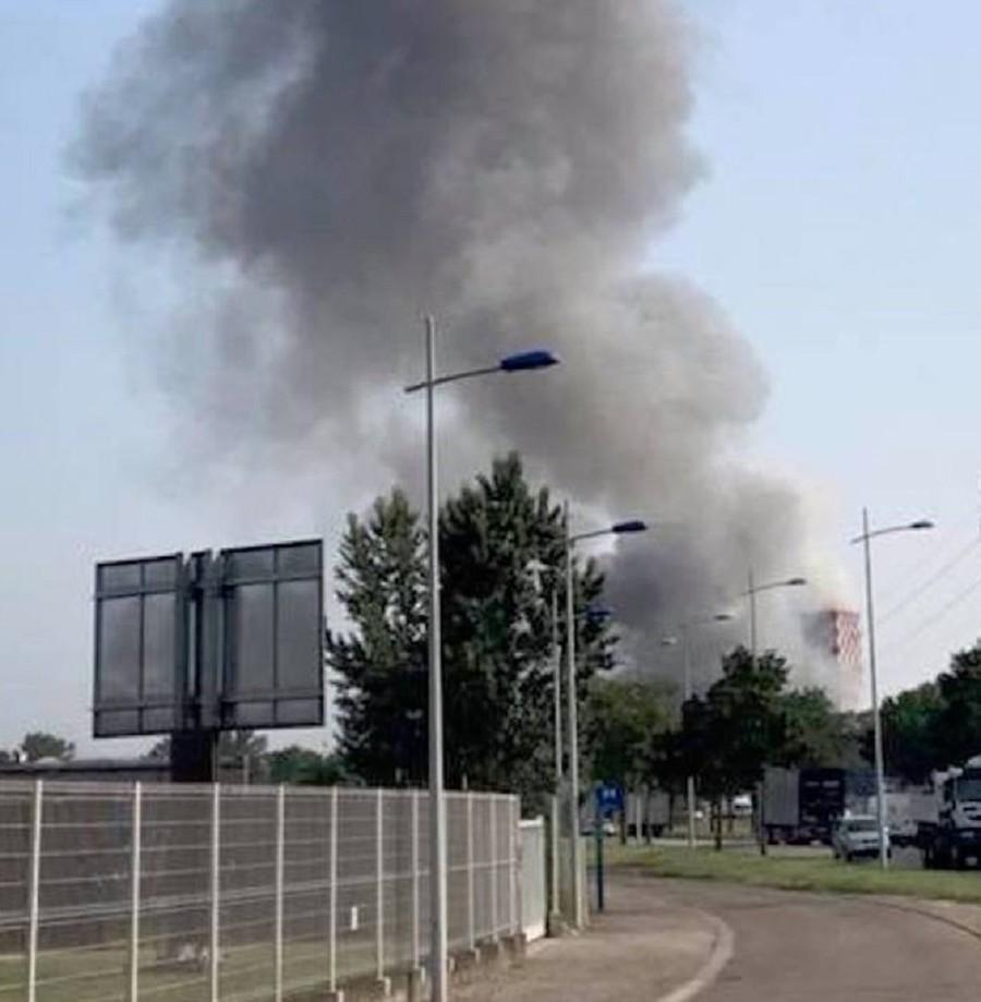 Police confirm 4 injured in blast at storage facility in Strasbourg, France
