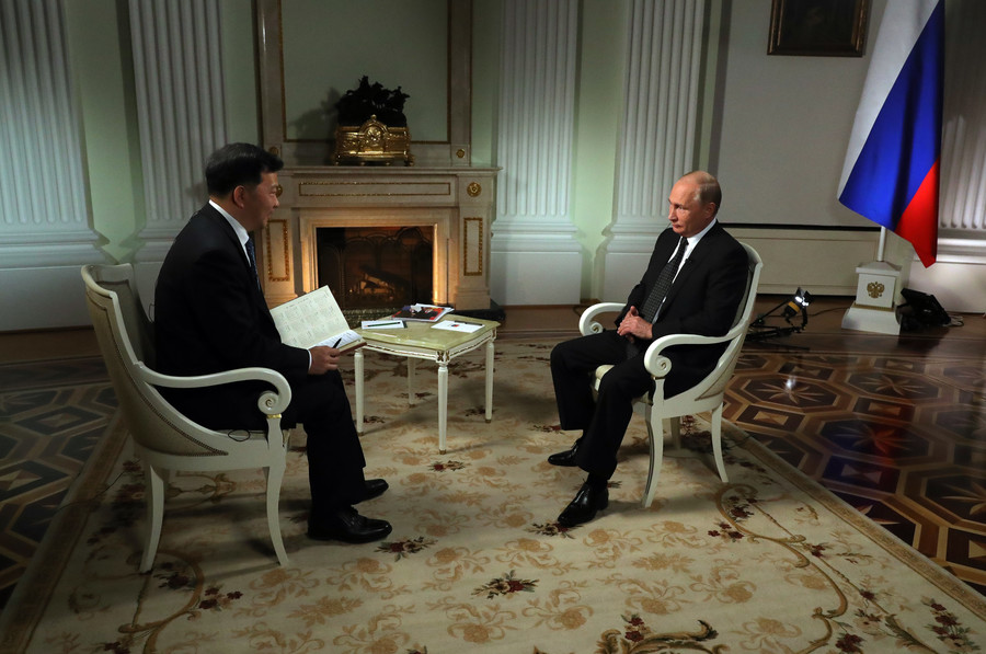 Relations with China? Partnership, trust and... a crate of ice-cream – Putin's interview top quotes