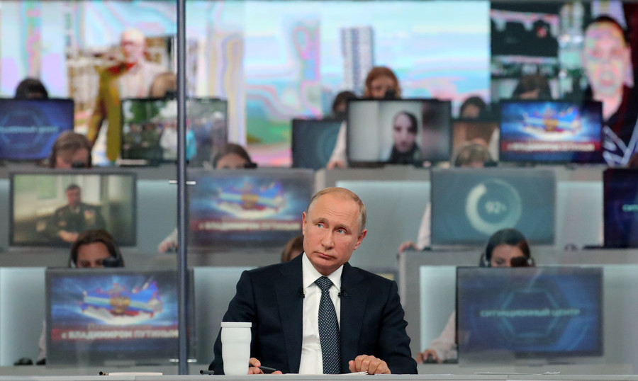 Putin annual Direct Line Q&A news