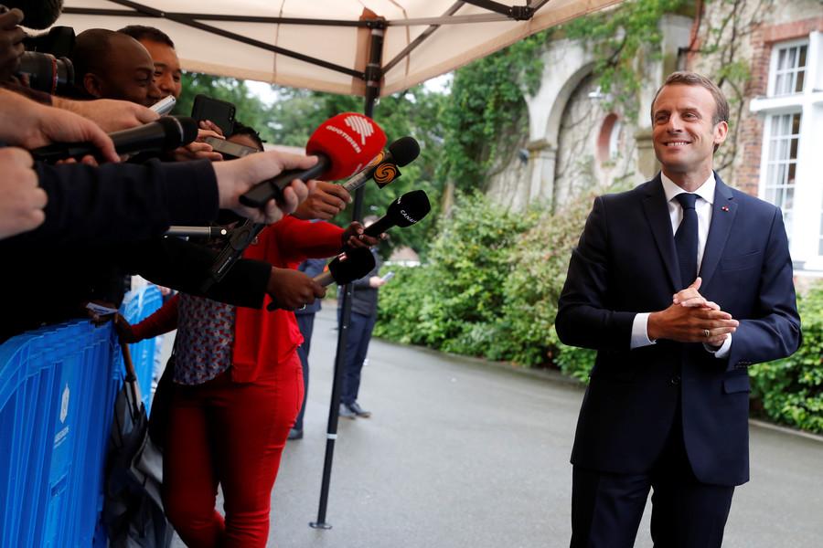 'Ridiculous & absurd political censorship': Opposition critics slam Macron's anti-fake news law
