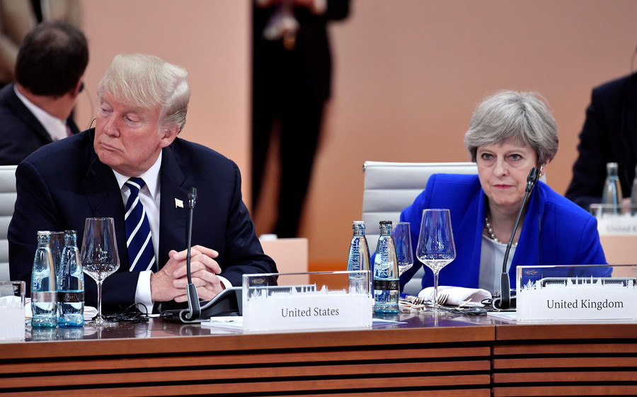 'School mistress' Theresa May too afraid of offending people – Trump