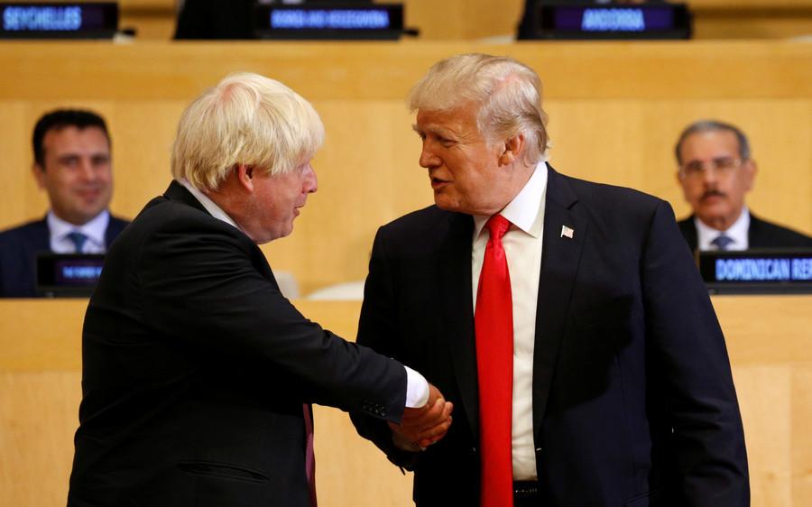Trump negotiating Brexit 'would be a fantastic idea' – leaked Boris Johnson recording