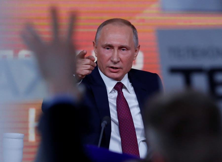 Putin presser news