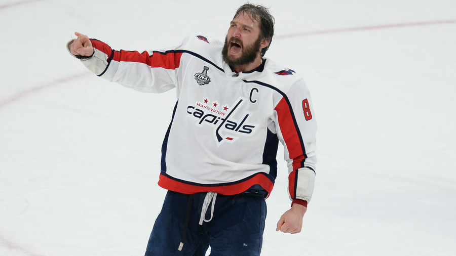 Ovechkin does keg stand before jumping in fountain as epic Stanley Cup celebrations continue (VIDEO)