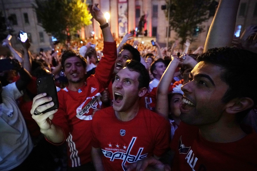 Washington turns red after Caps' historic Stanley Cup triumph