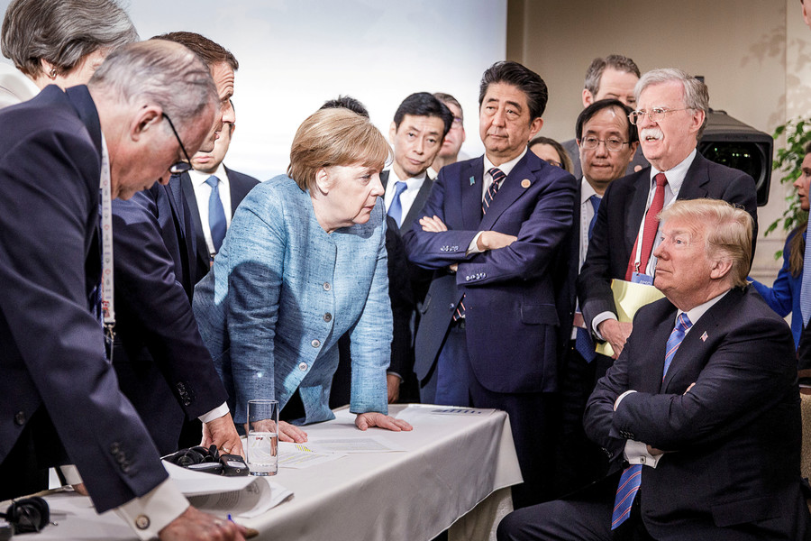 Trump the outsider gatecrashes own party: Top takeaways from an ill-mannered G7