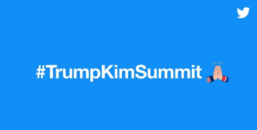 High five or hands praying? Twitter unveils #TrumpKimSummit emoji
