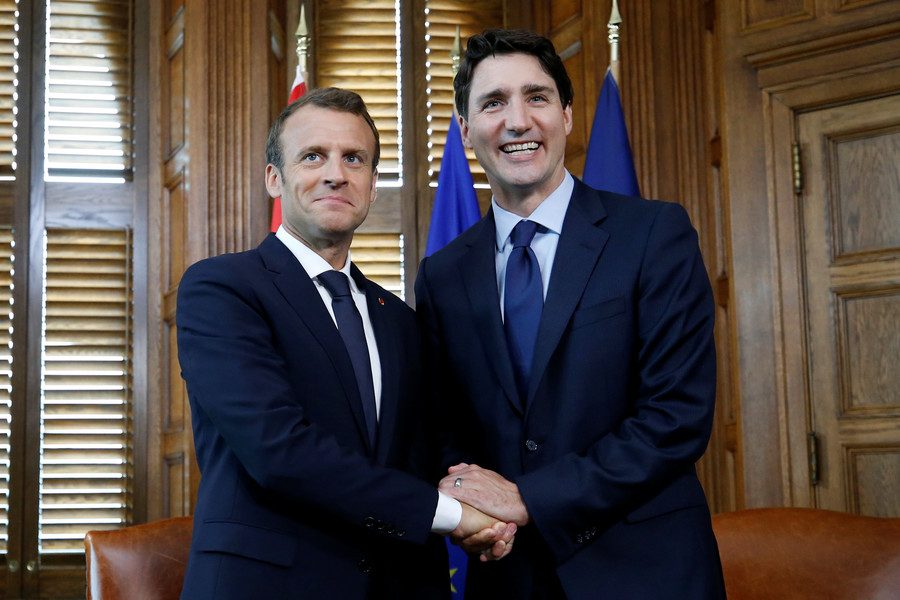 Was Trudeau wearing fake eyebrows at the G7 summit? (POLL)