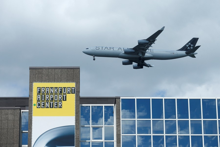 Frankfurt airport fire sparks plane inferno fears (PHOTOS)