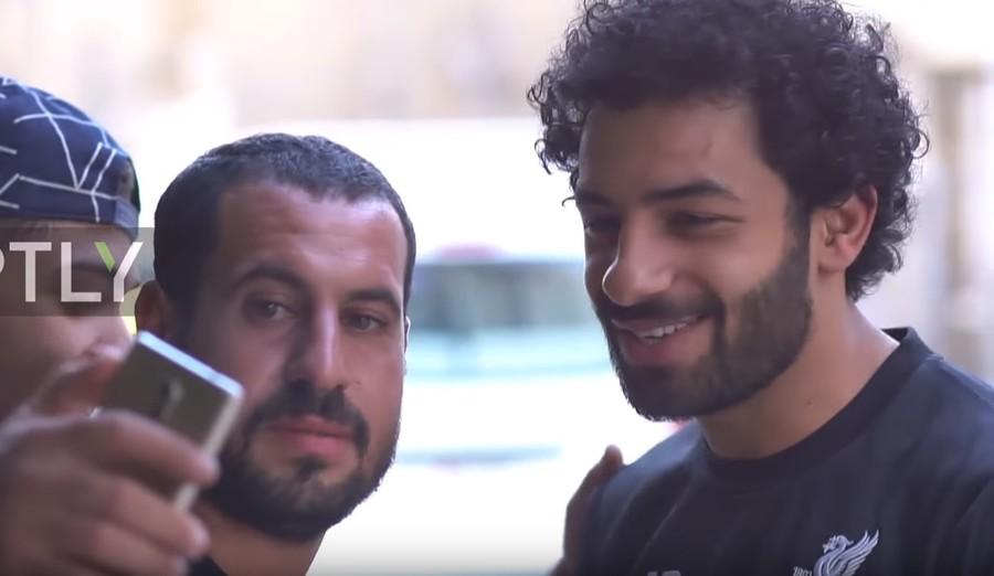 Salah trolled by Liverpool teammate Lovren with incredible lookalike video