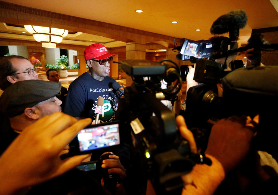 'I knew things were gonna change': Rodman cries and plugs crypto in bizarre interview about N Korea