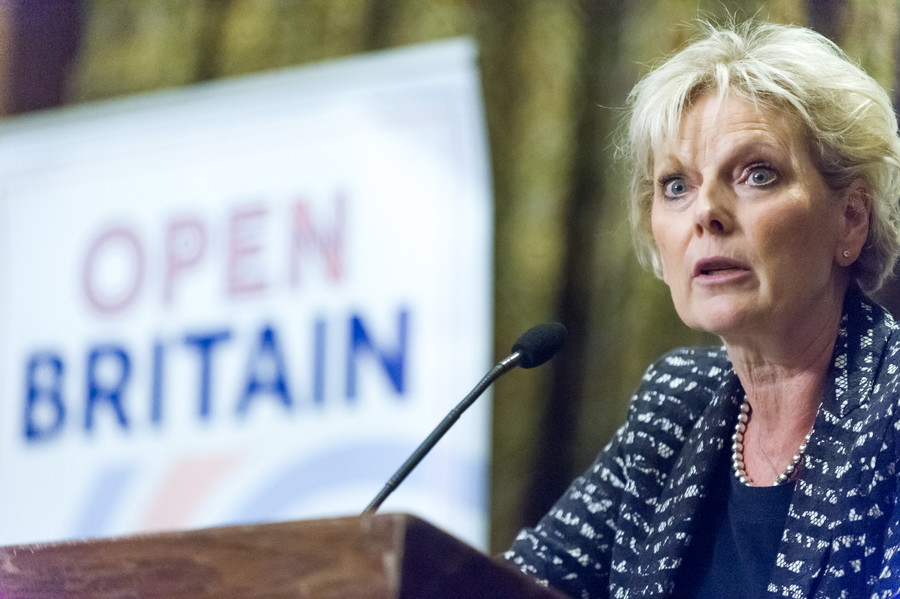 MP switched Brexit vote after threats of violence, Anna Soubry claims