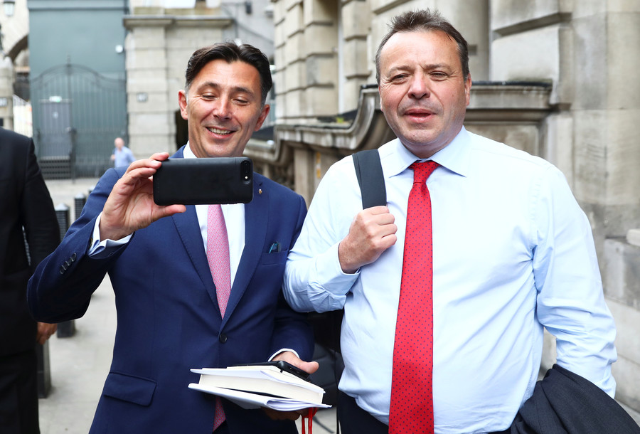 Pro-Brexit donor Arron Banks admits meeting Russian ambassador … then briefing US security services