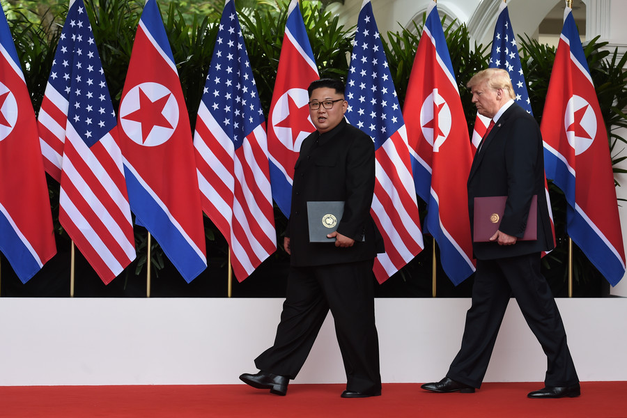 Denuclearize first, talk sanctions after: What historic US-N. Korea summit promised to the world