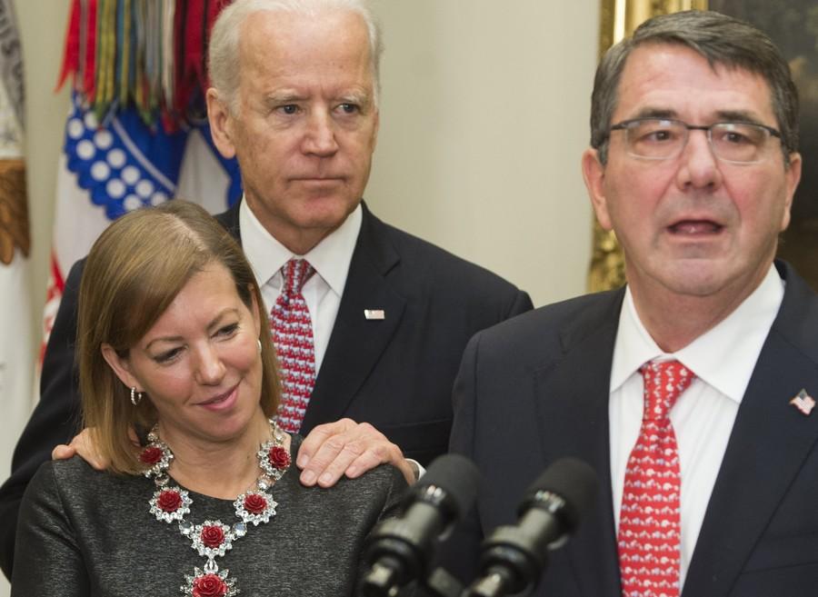 Heckler accuses Joe Biden of 'molesting girls' on book tour stop