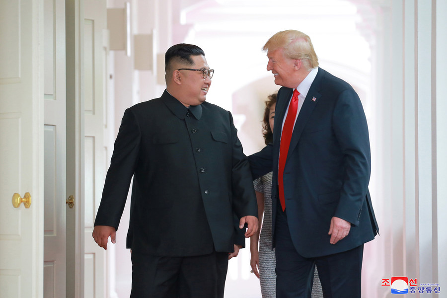 Kim invites Trump to Pyongyang, calls for mutual suspension of 'irritating & hostile' actions