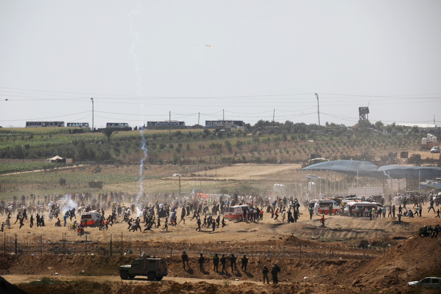 UN General Assembly condemns Israel for 'excessive use of force' on Gaza border