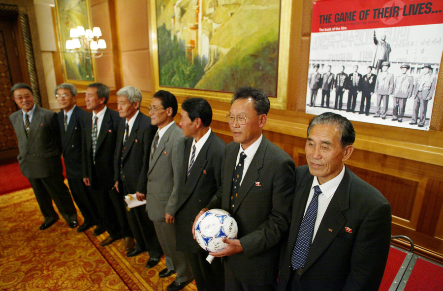 THE SURVIVING MEMBERS OF NORTH KOREA'S ILLUSTRIOUS 1966 WORLD CUP / Reuters