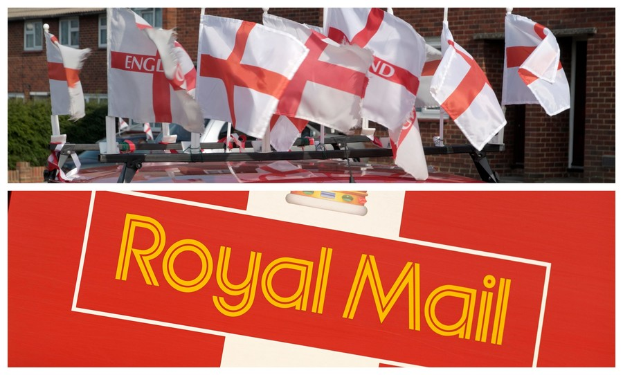 'Bonkers' Royal Mail flag ban rubs England-supporting staff up the wrong way