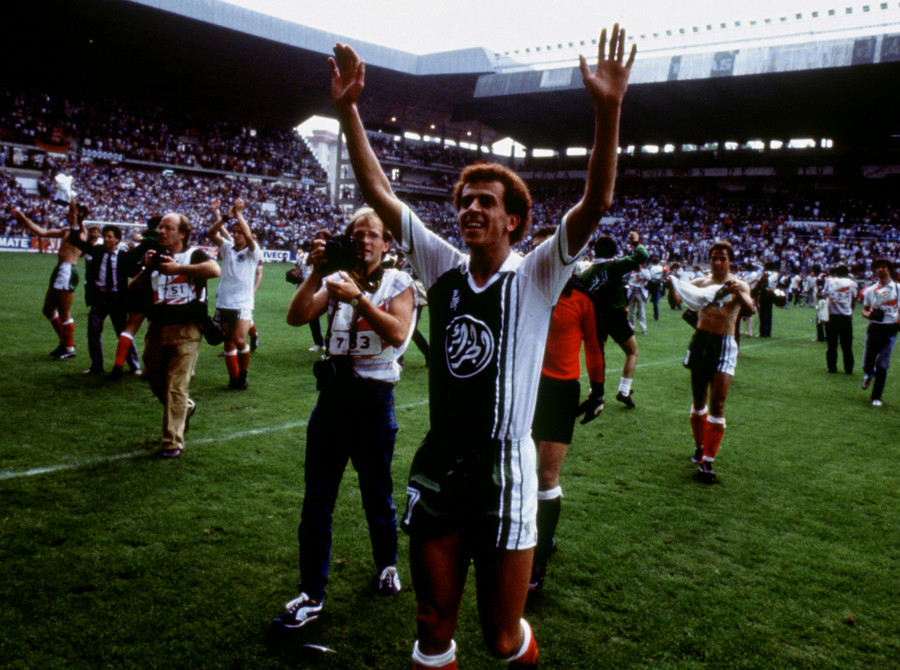 Football - 1982 FIFA World Cup - Group B - Algeria v West Germany © Action Images / Sporting Pictures / Reuters