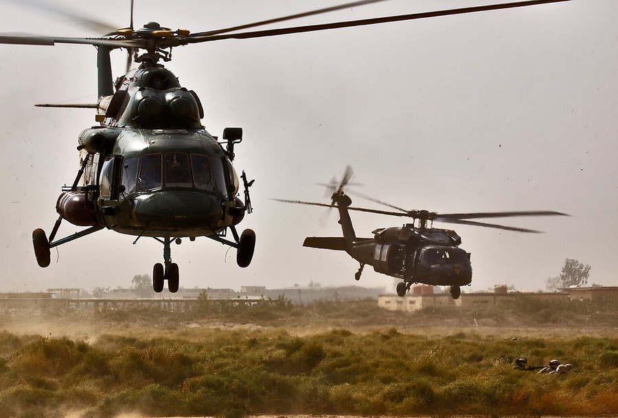 Pentagon finds Afghanistan's 'new' Black Hawk helicopters inferior to Russian Mi-17s