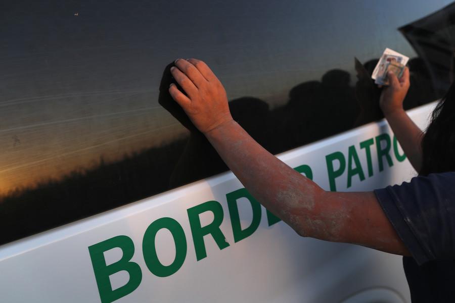 US Border Control vehicle hits Native American man, drives off (VIDEO)