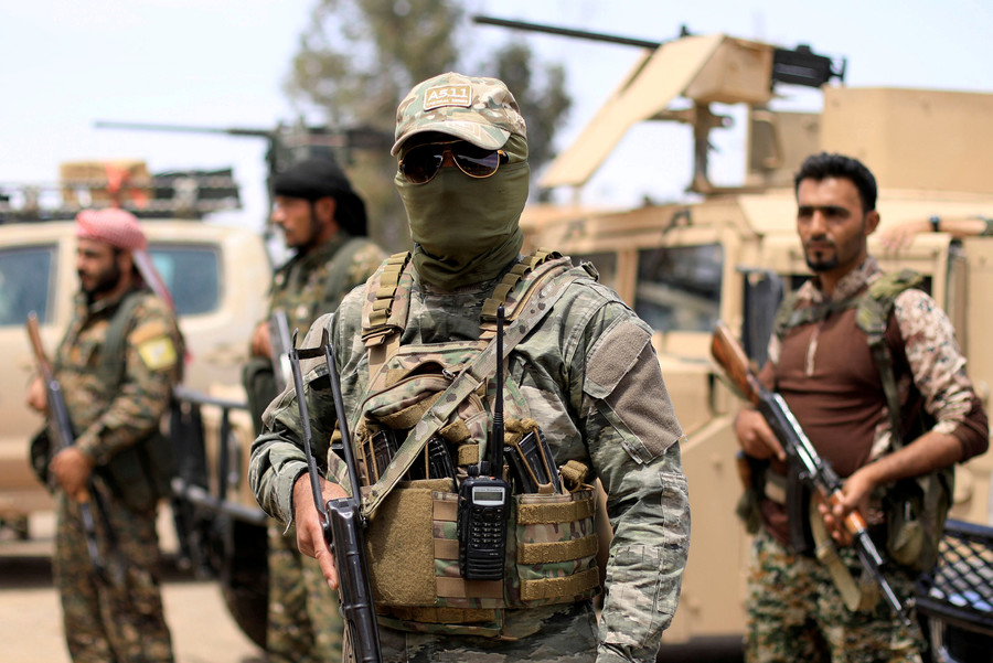 US-led coalition strikes Syrian army positions in Deir ez-Zor province – state media