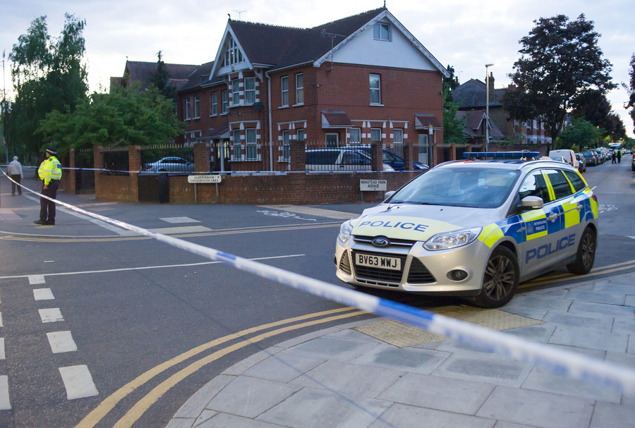 Man left in critical condition after east London noxious substance attack, police hunt launched