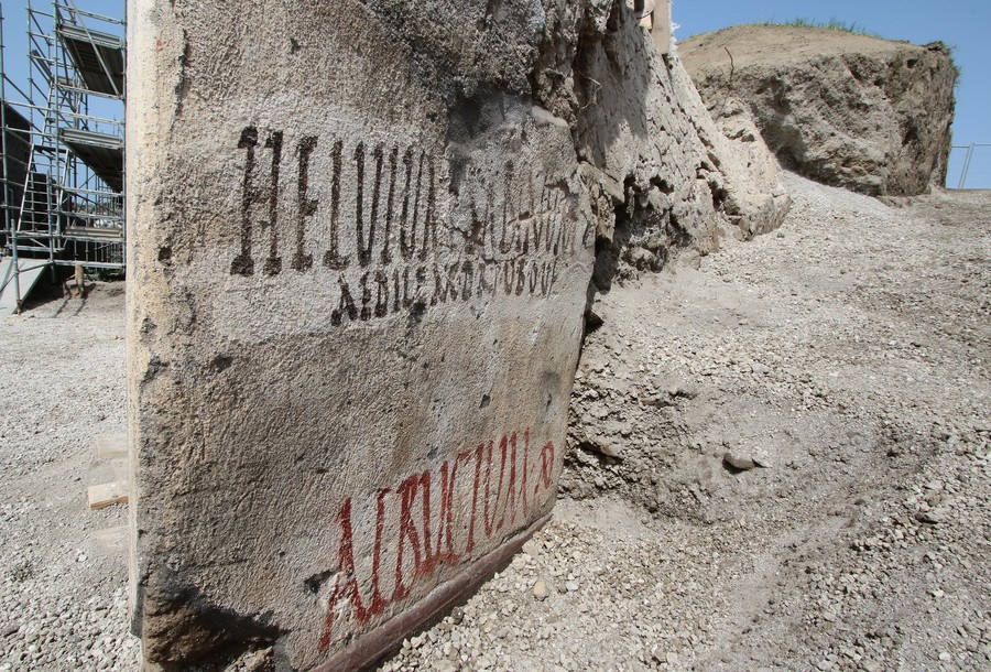 Ancient electoral propaganda: Pompeii political slogans uncovered from ruins (PHOTOS)