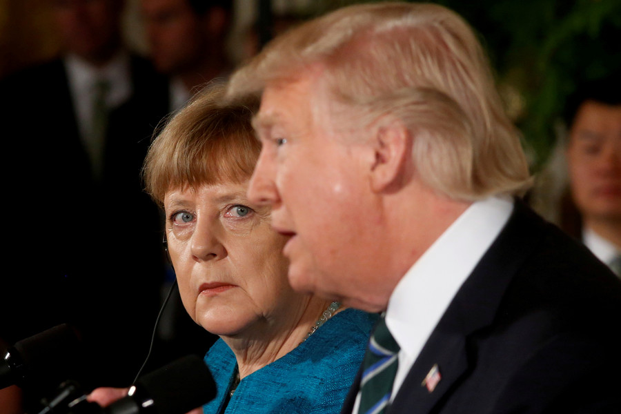 'We don't want European-style immigration here': Trump slams Merkel's policy