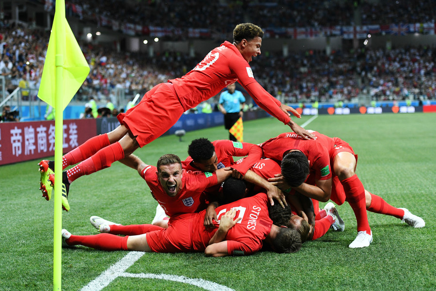 Two-goal Kane gives England 2-1 World Cup opening victory over Tunisia in Volgograd