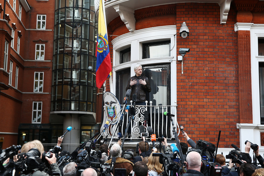 'Americans should be true to their constitution & stop persecution of Julian Assange'